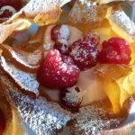 Christmas Red Fruit Filo Baskets