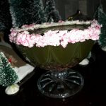 Christmas Emerald  Candy Cane Cocktail