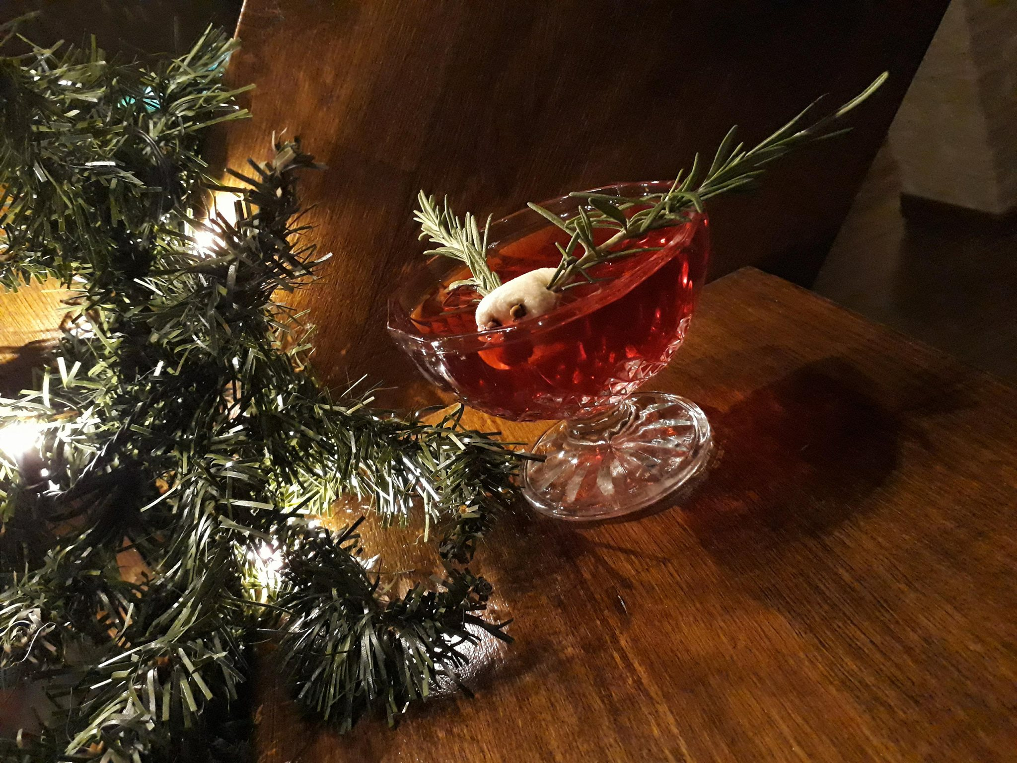 Rudolph's Mocktail Recipe