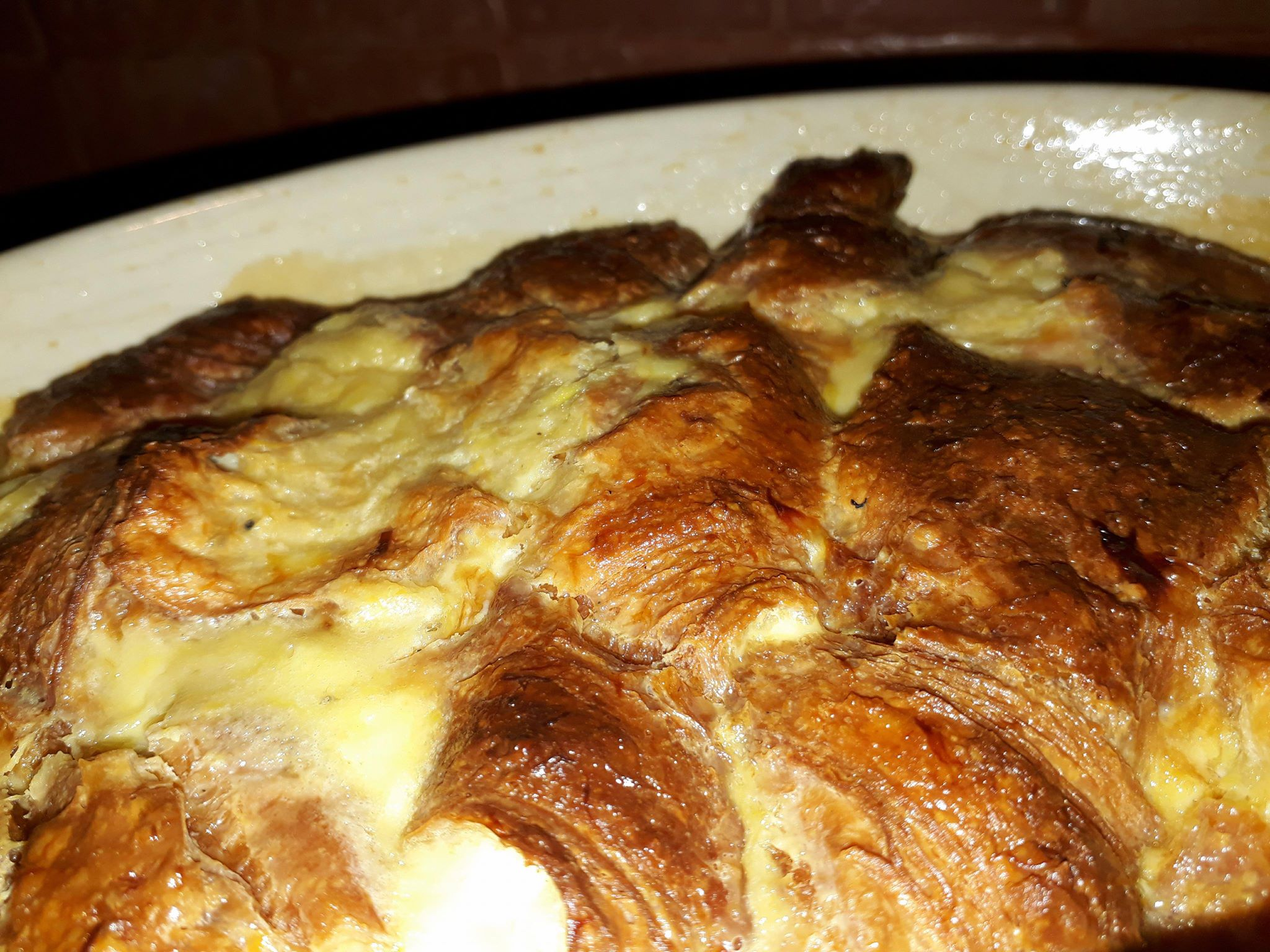 caramel croissant bread pudding recipe, caramel croissant pudding, caramel croissant pudding, Nigella Lawson caramel croissant pudding