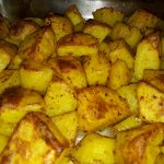 Roast Potatoes with Chili and Turmeric (Gordon Ramsay's Recipe)