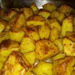 Roast Potatoes with Chili and Turmeric (Gordon Ramsay's Recipe)