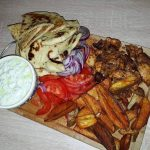 Chicken Gyros (Akis Petretzikis Recipe)
